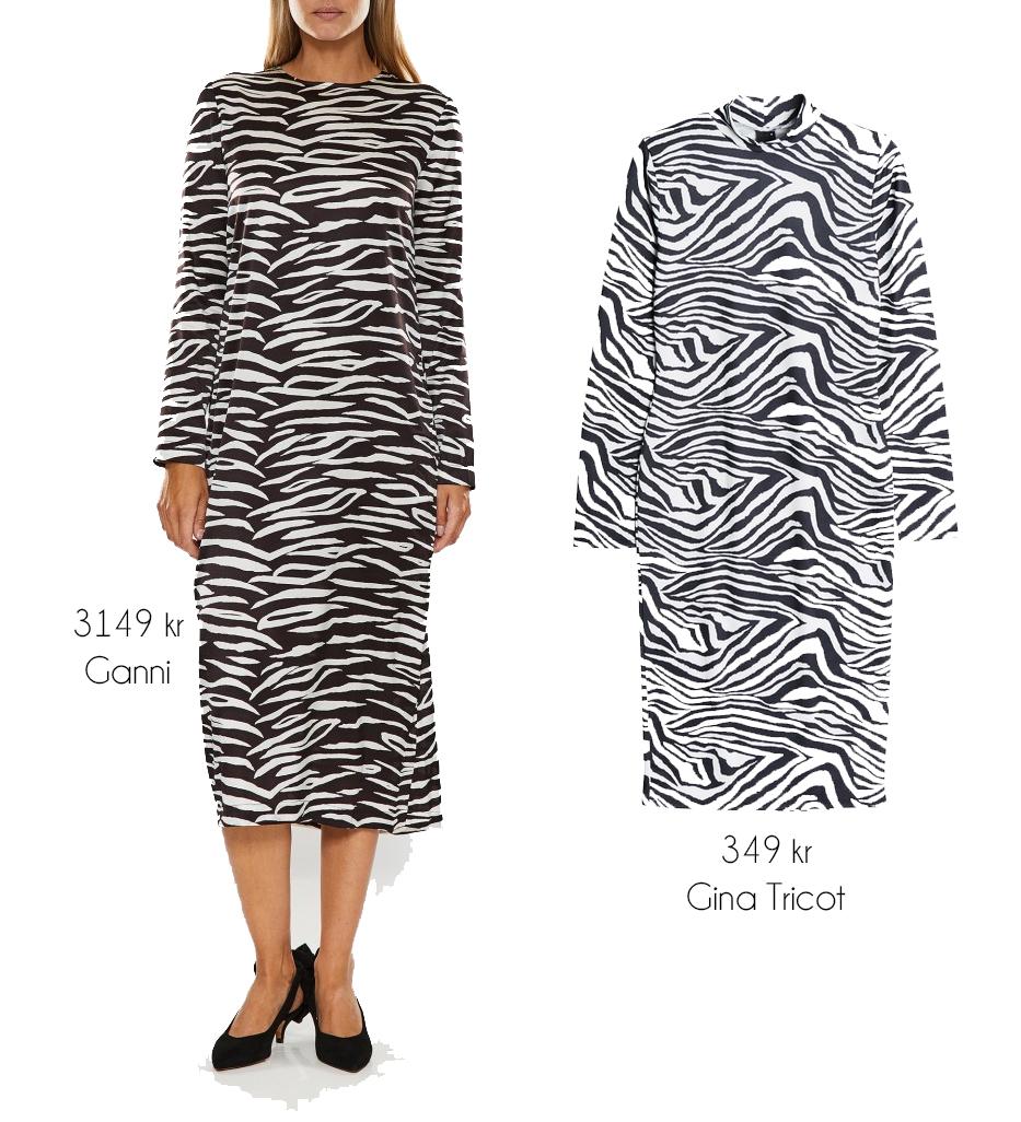 Har du spanat in den zebrarandiga klänningen från Ganni som finns hos  Wakakuu 4b35e1b838dc8