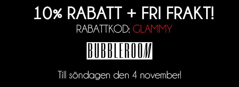 bubbleroom rabattkod