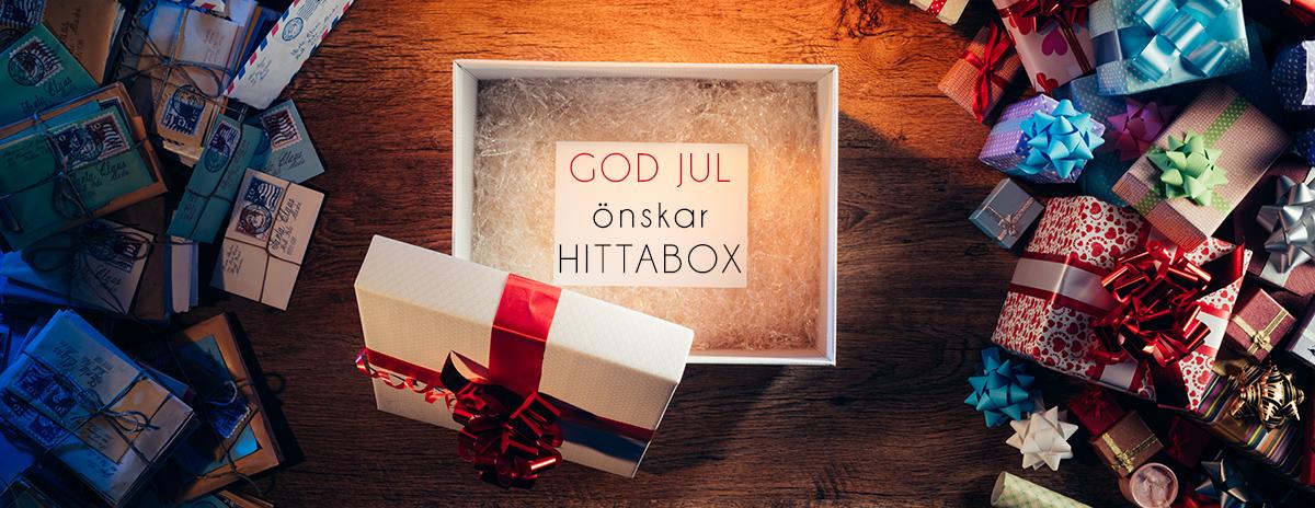 ge bort en box i julklapp