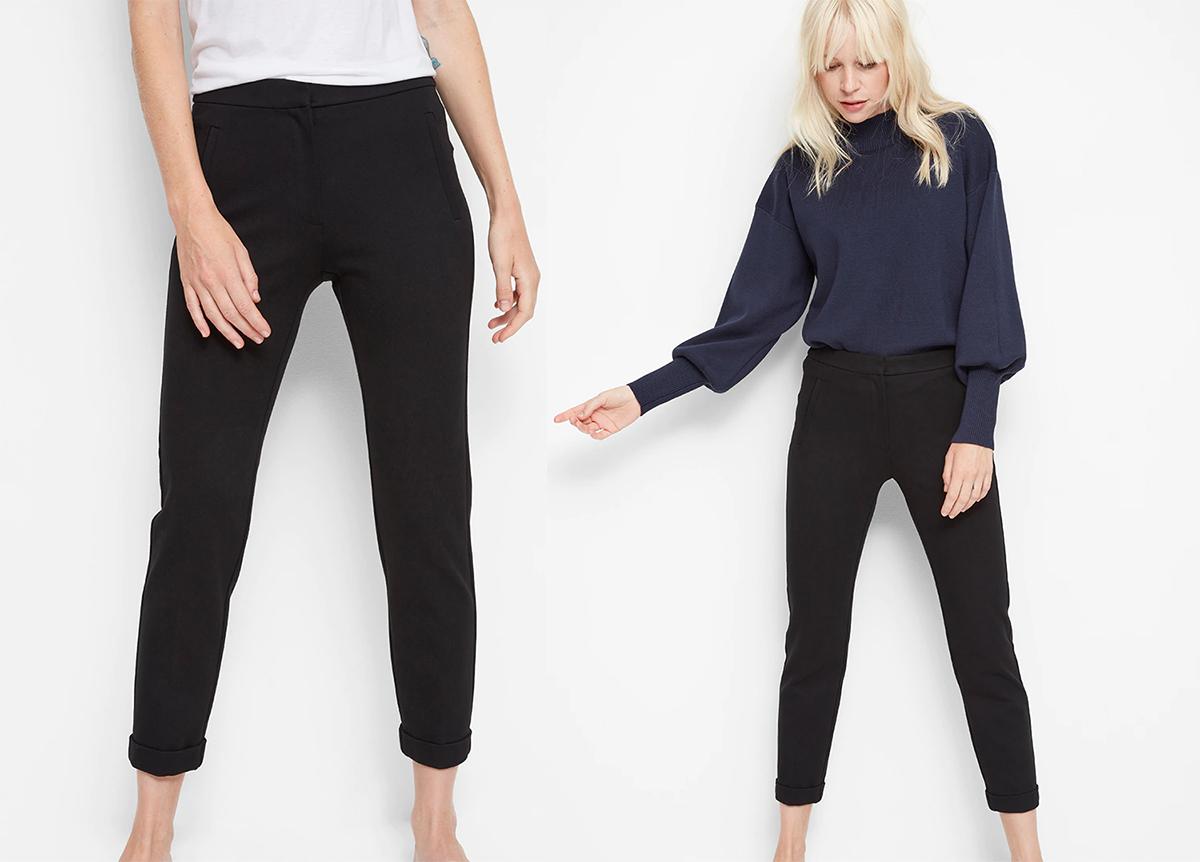 lindex svarta byxor