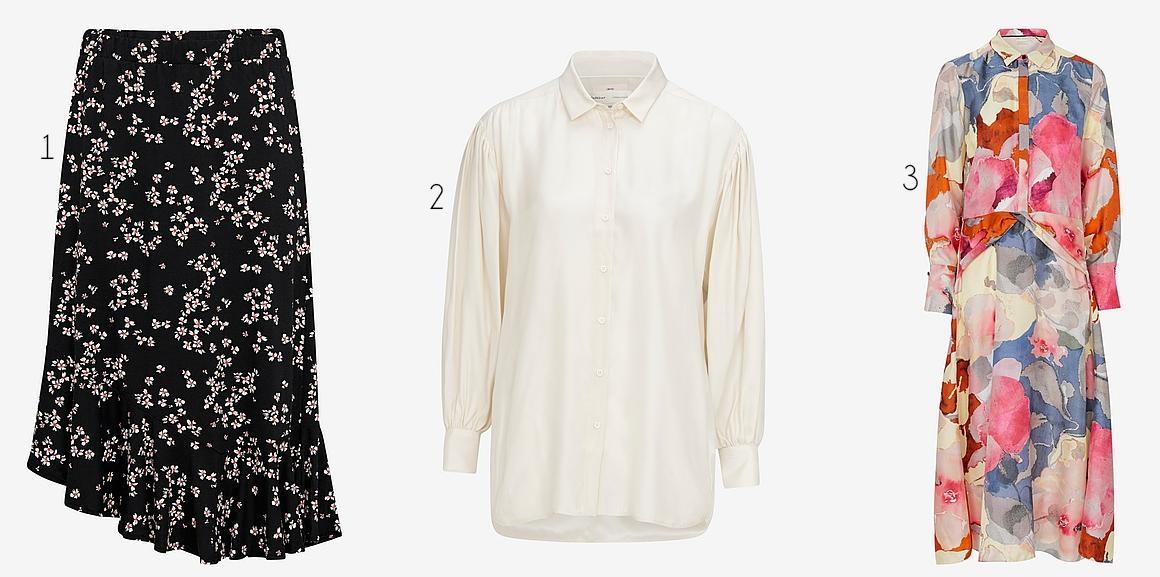 Två vita plagg i butik – Käthe Nilsson