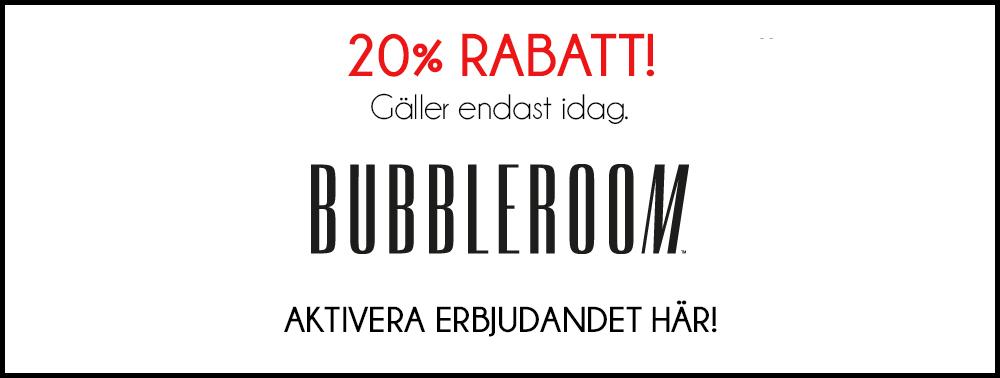 bubbleroom rabatt