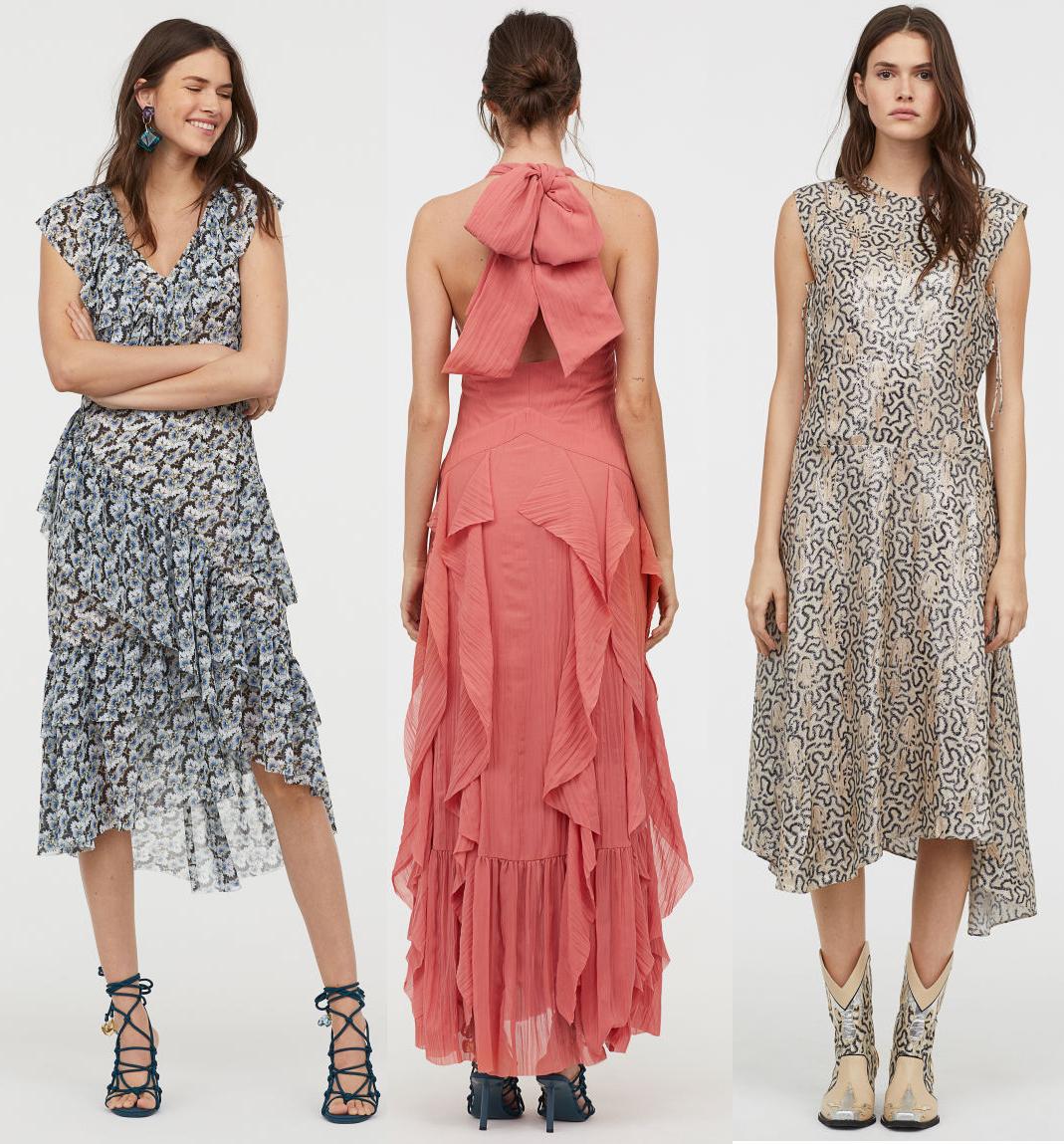 fina klänningar på hm