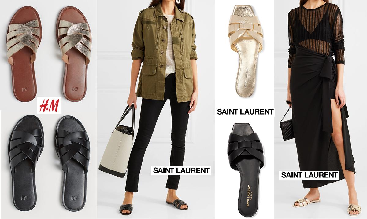 Sandalerna från H&M är här! – Käthe Nilsson