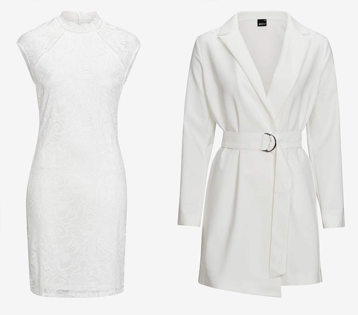 vit klänning budget