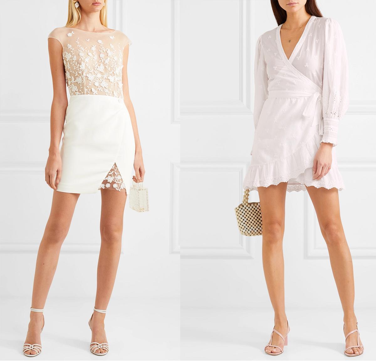 cbcfb9ac846e Vid den här årstiden är det många som letar efter vita klänningar. De ovan  kommer från Net-a-Porter och finns här och här. Dock så är nog vit klänning  det ...