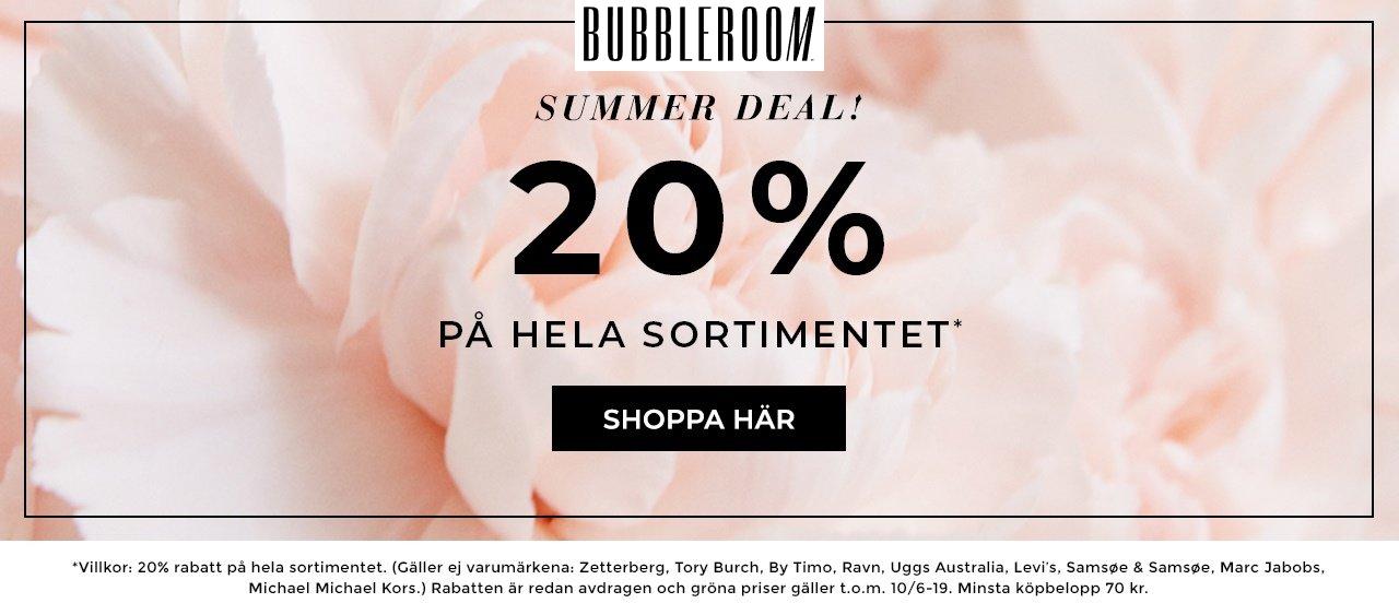 info för nytt utseende AliExpress Sommarrea: 20% rabatt hos Bubbleroom – Käthe Nilsson